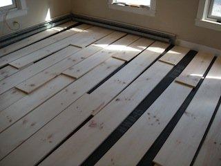 white pine hardwood floors