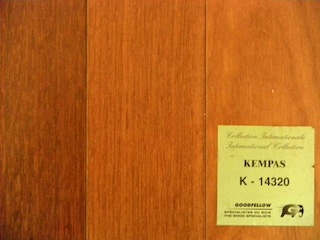 kempas wood floor