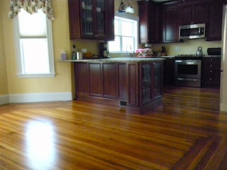 heartpine hardwood floors