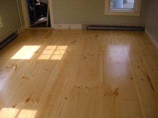 white pine hardwood floors