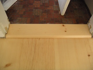 white pine threshold