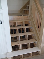Delightful Staircase Installation Images