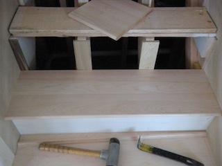 hardwood staircase