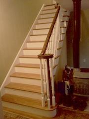 bullnose staircase