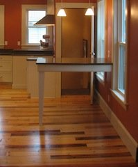 spruce hardwood floors