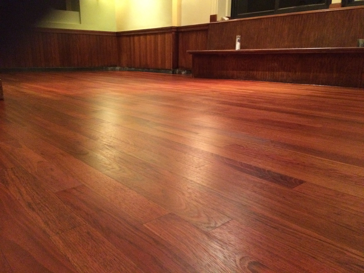 Brazillian cherry flooring