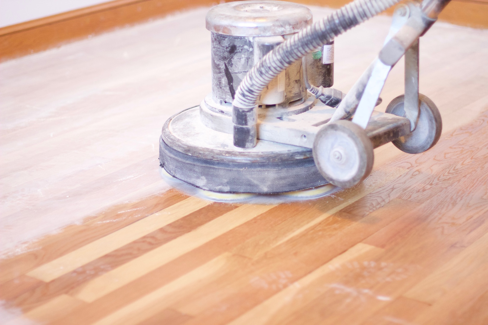 Hardwood floor buffer how to use for Floor buffer