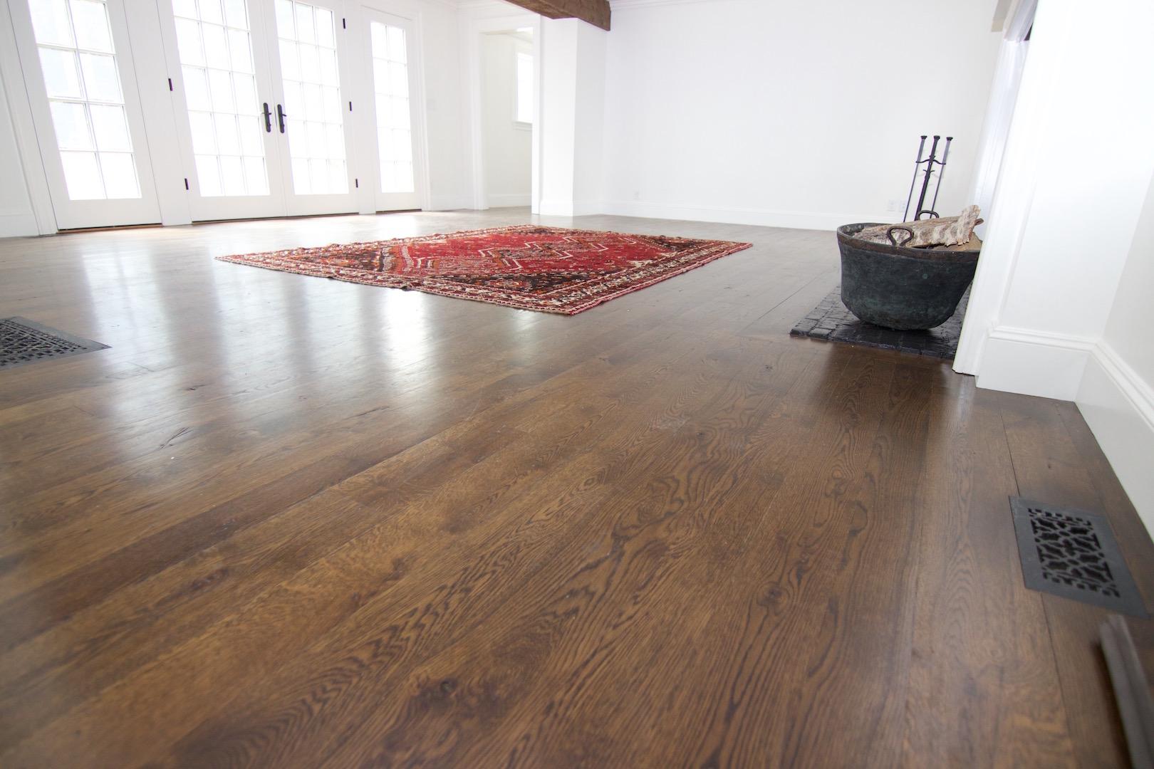 random width floors
