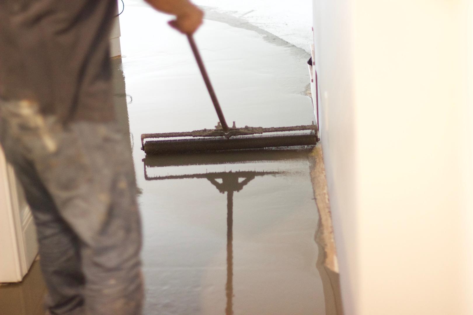 concrete floor leveling