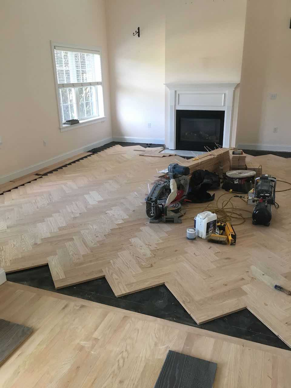 hardwood floor preparation