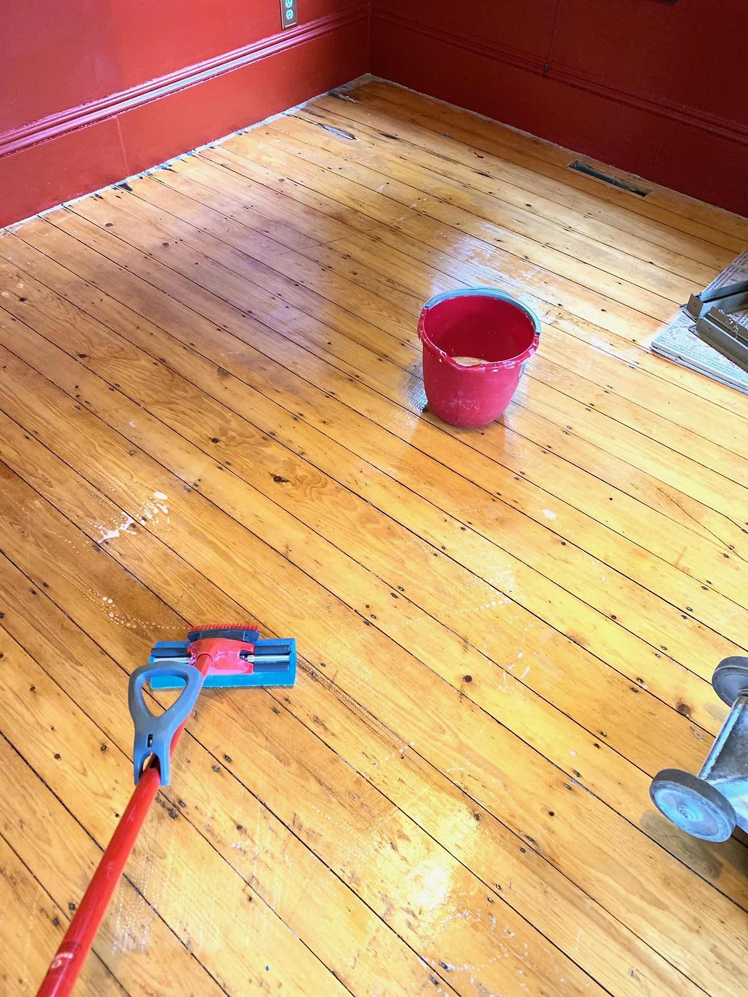 hardwood floor prep
