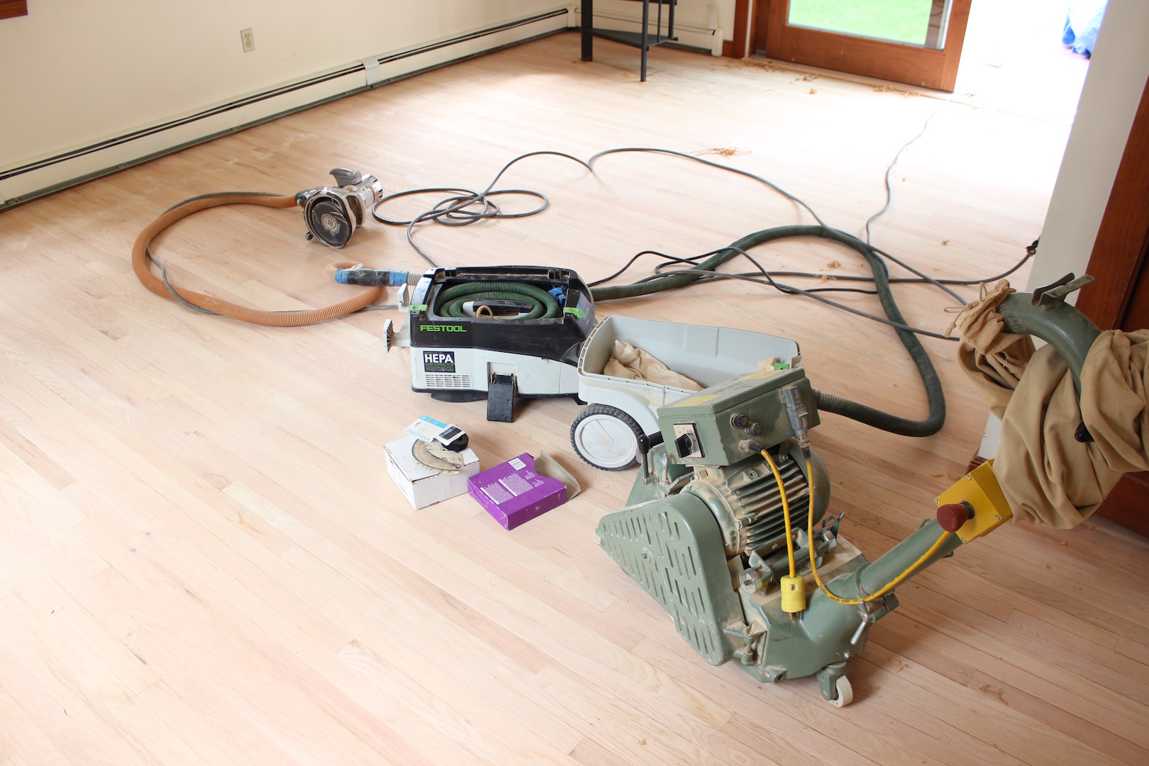 Sanding Hardwood Floors Gandswoodfloors