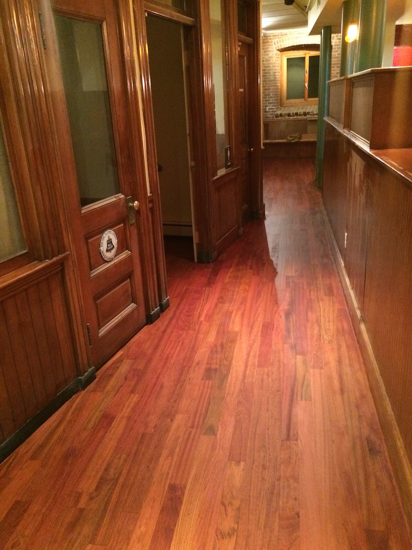 Brazillian cherry flooring
