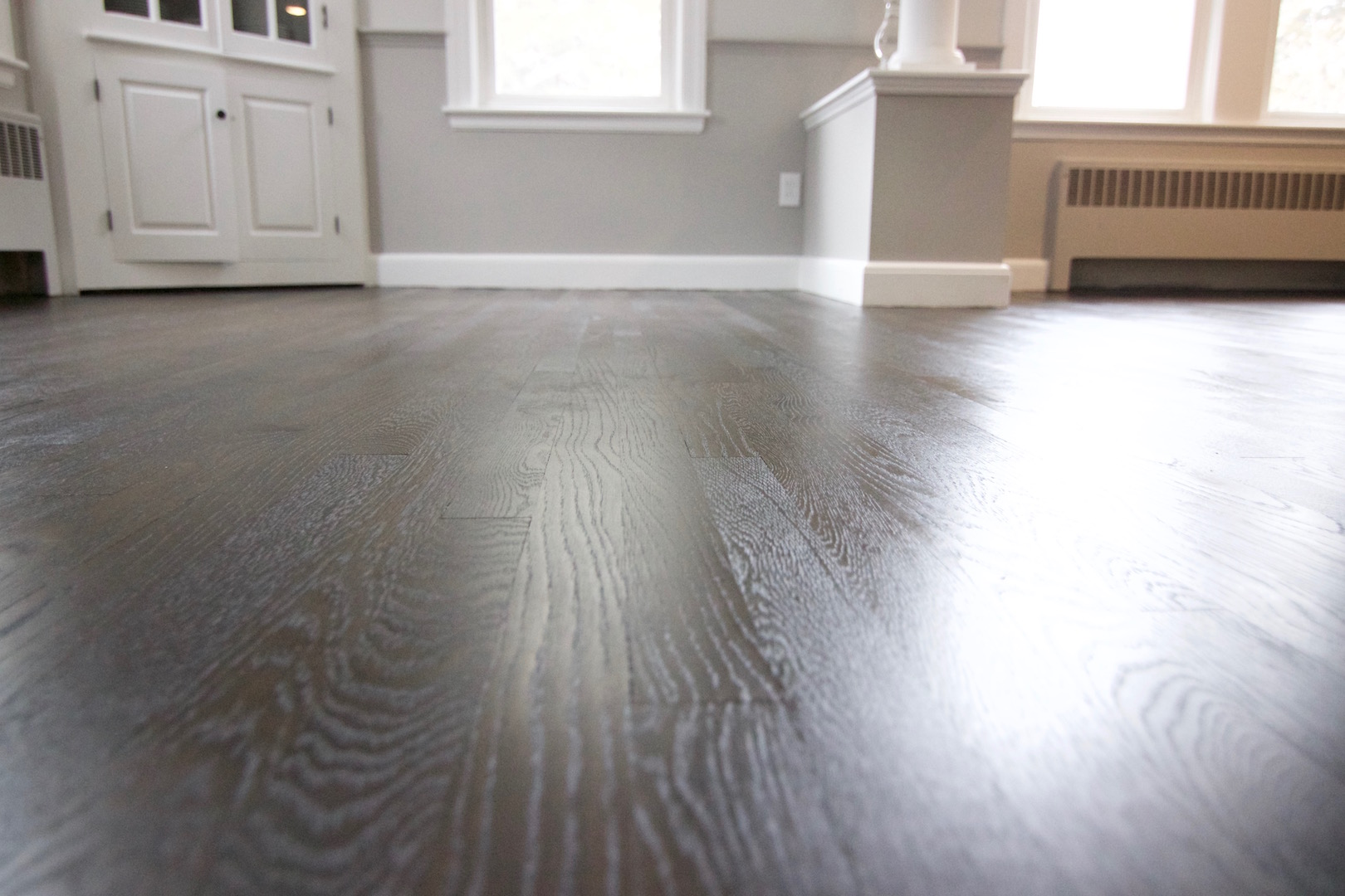 wire brush hardwood