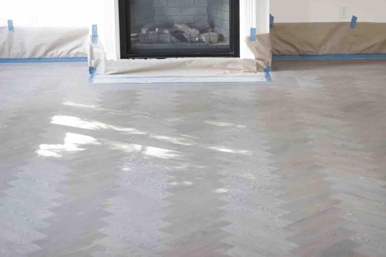 wood floor stain