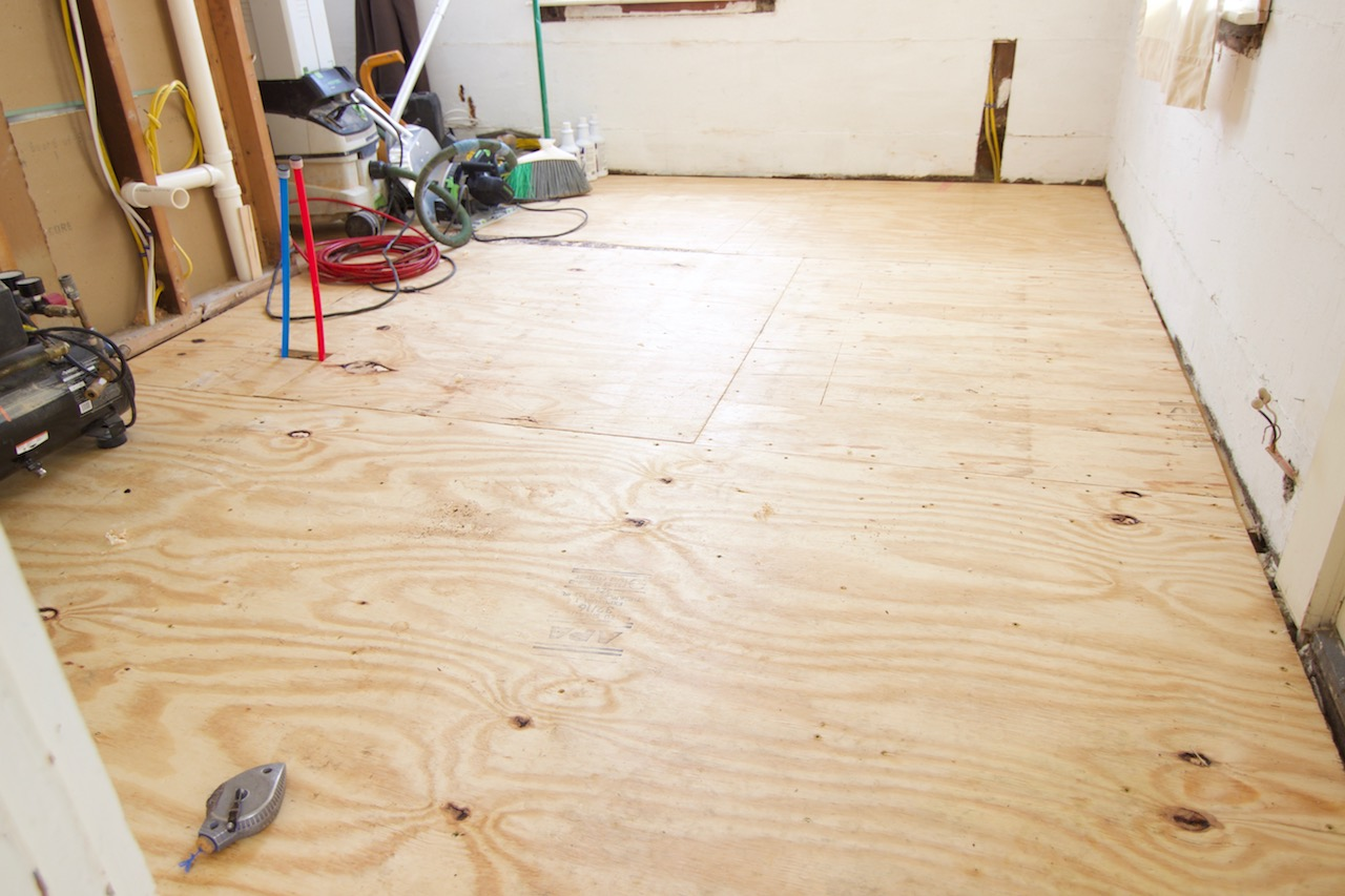 subfloor preparation