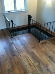 reclaimed pine flooring