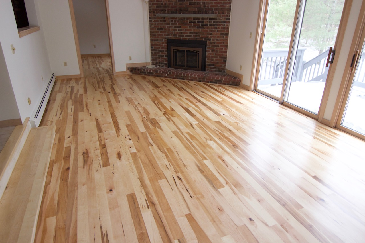 #1 Maple hardwood floors